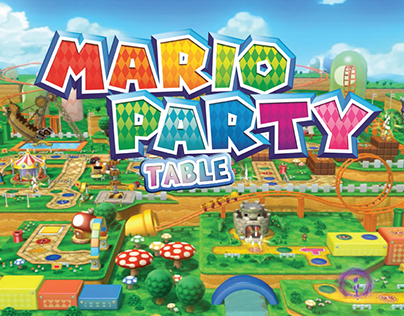 Mario Party Table