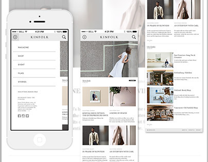 Kinfolk - Design Concept