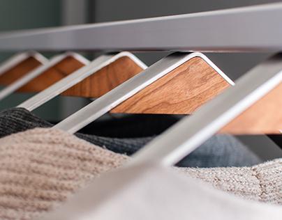 FISIK: Magnetic Clothes Hanger