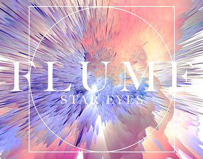 Cover Art study | artwork | FLUME - Star Eyes