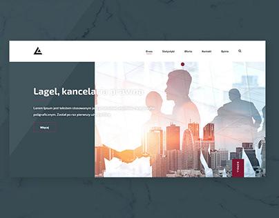 Lagel, law firm website
