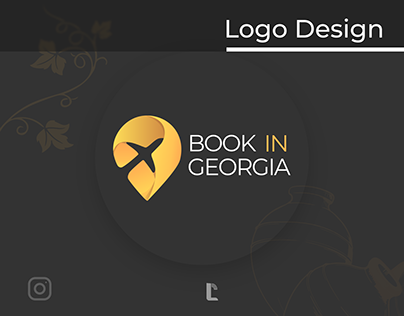 BOOK IN GEROGIA- Logo & Instagram page