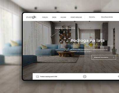 Home furnishings company website