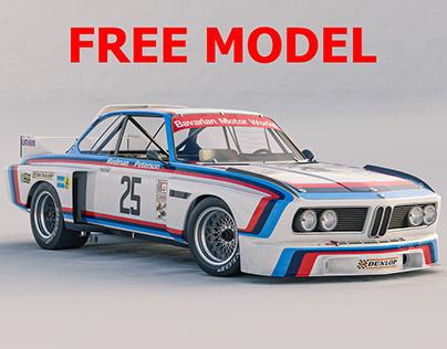 FREE Model BMW CSL 3.5