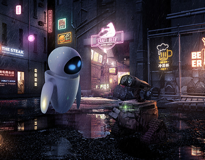 【瓦力WALL·E的狗粮放送】电影级渲染