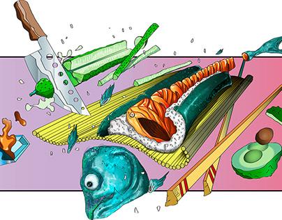 Fish boom