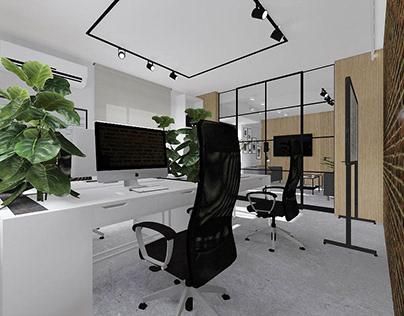 Przestrzeń biurowa firmy Sisoft