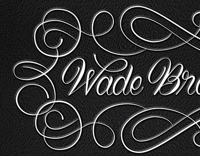 Wade Broadstreet- Personal Logo