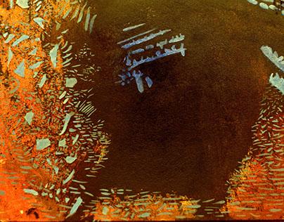 "Inscape, Oil on Museum Board 8x10"", 2017"