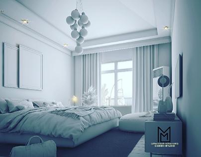 Master bedroom  upcoming work
