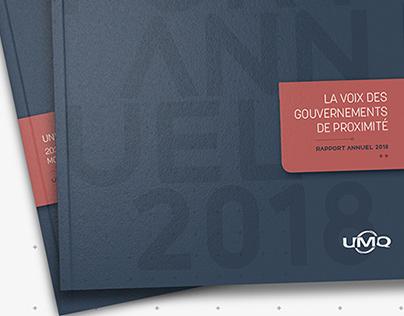 Rapport annuel de l'UMQ 2018