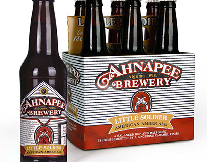 Ahnapee Brewery Beer Packaging