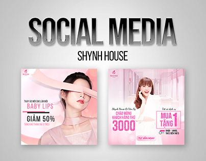 SOCIAL MEDIA - VIỆN THẨM MỸ SHYNH HOUSE ( FACEBOOK)