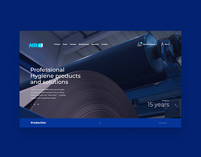 Paper manufacturer website