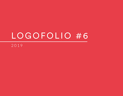 Logofolio #6 - 2019