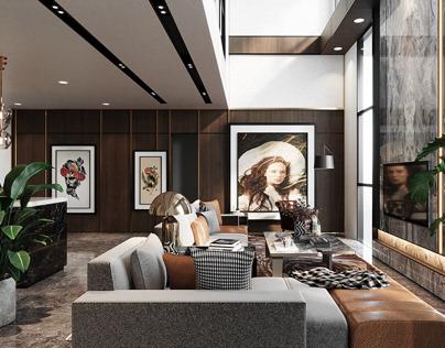 3D - Modern Penthouse, Sarawak