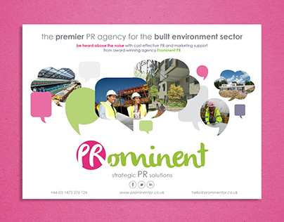 Premier Construction Advert - Prominent PR