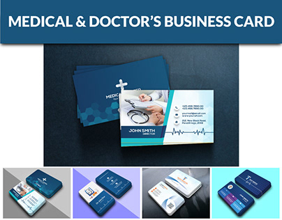 Medical & Doctor's Business Card