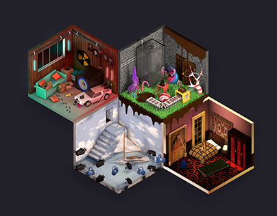 The Rooms : Movie character's room