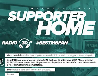 Mercedes-Benz: #BestMBfan, radio