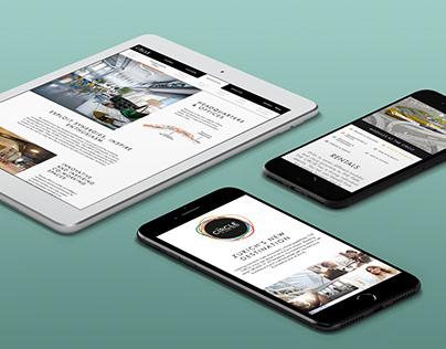 """Website """"THE CIRCLE"""" for Flughafen Zürich"""