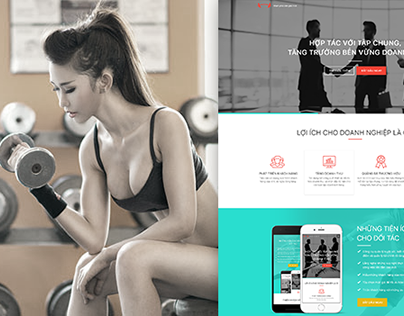 Fitness Website - TapChung