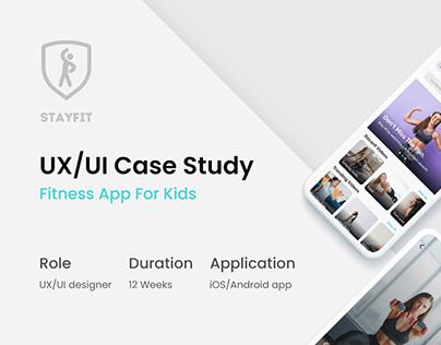UX Case Study - Stayfit app