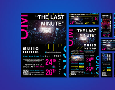 Event Collateral Design | The Last Minute