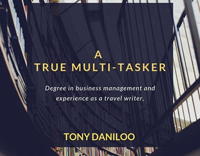 Tony Daniloo - Multitasker