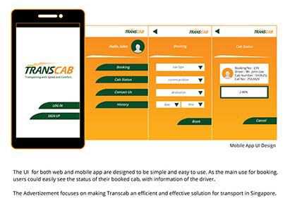 Rebrand of TRANS-CAB Services Pte Ltd (Graphic Studio