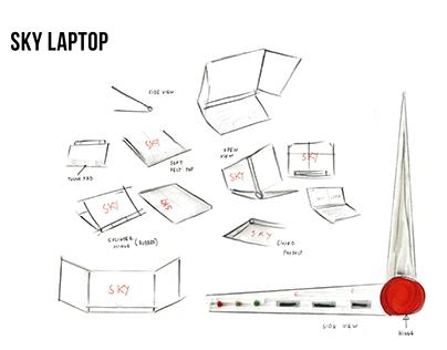 Sky laptop