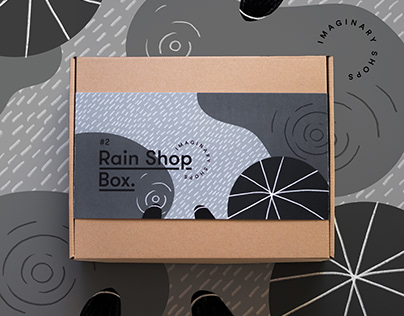 Rain Shop Box - Imaginary Shops