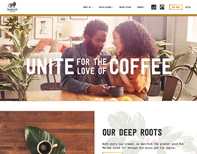 Marley Coffee Website
