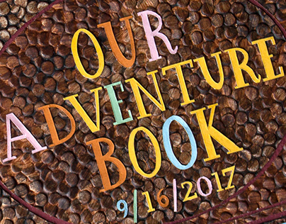 """Our Adventure Book"" Wedding Gift"