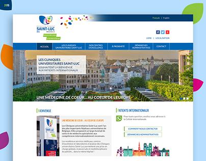 International Saint-Luc website