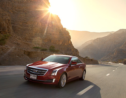 Cadillac ATS Coupe - GM Middle East PR teaser campaign