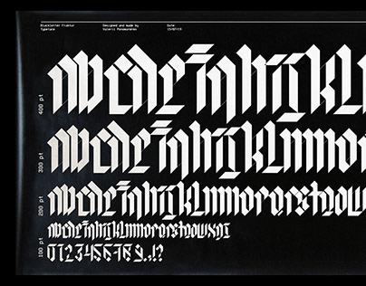 Blackletter_Fraktur_Typeface