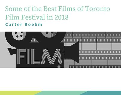 Carter Boehm | Best Films of Toronto Film Festival