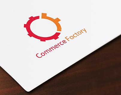 Commerce Factory logo design