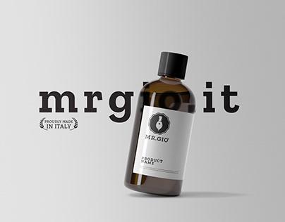 Mr.Giò // Branding Cosmetic Man Brand