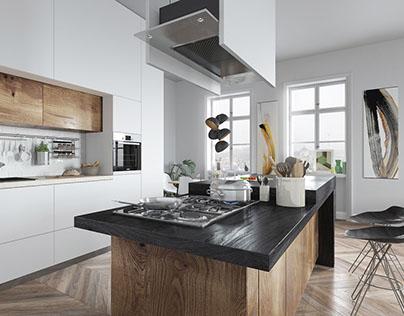 Scandinavian Appartment interior project