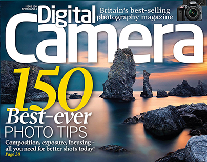 Digital Camera Magazine: Layout & Cover Design