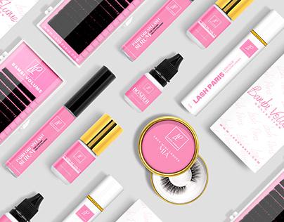 Lash Paris | web design
