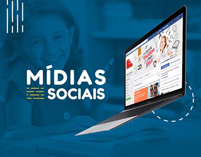 Colégio Evolução - Mídias sociais