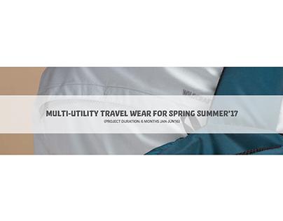 Functional Clothing Design : Multi Utility Travel Wear