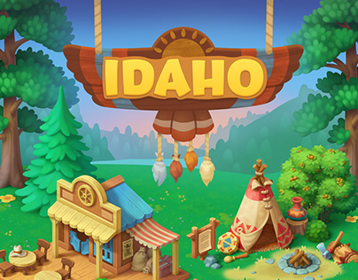 Wildscapes (Playrix) - Idaho Areal