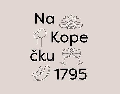 On a Hill 1795 Branding