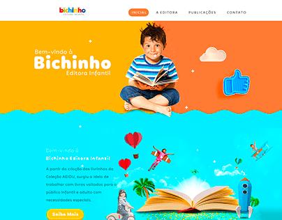 Site Editora Bichinhos