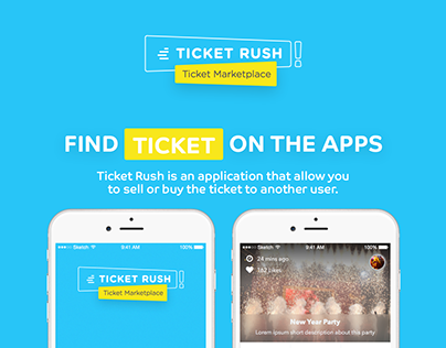 Ticket Rush Mobile Application