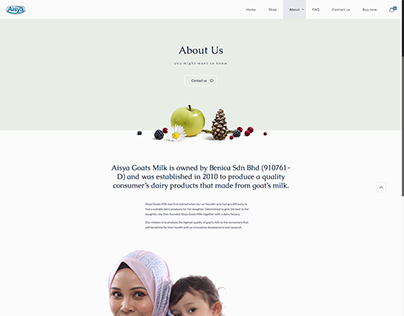 Website: Aisya Goat Milk